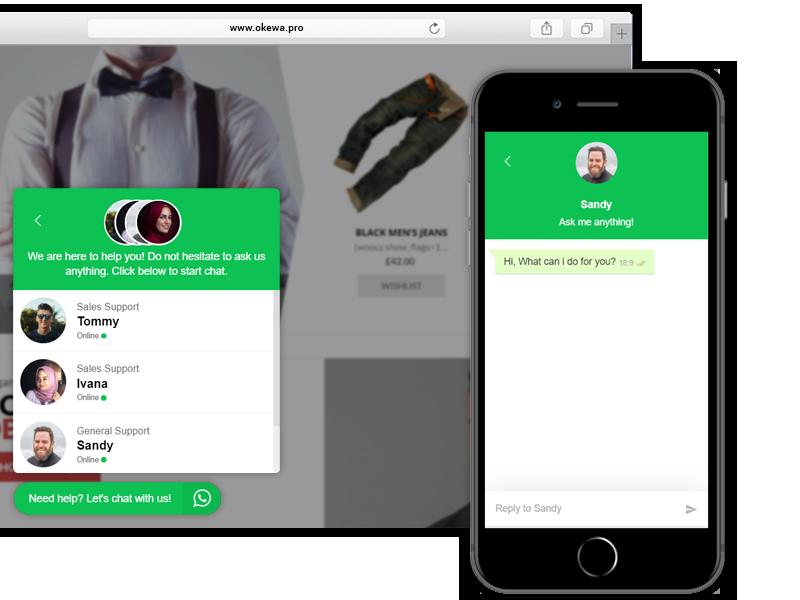 OKEWA - Ultimate Whatsapp Chat Widget for WordPress